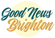 Good News Brighton footer church logo