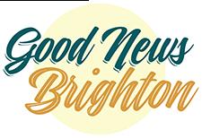 Good News Brighton footer church logo
