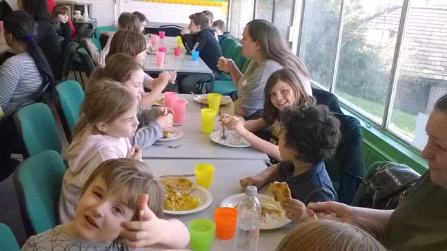 Weekly Community Meal in Moulsecoomb - Chomp